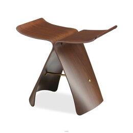 Tendo(天童木工)バタフライスツール(ローズウッド板目)[品番:S-0521RW-ST]