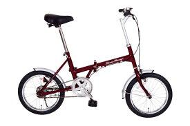 Classic Mimugo 16インチ折たたみ自転車 MG-CM16[ミムゴ MIMUGO][激安自転車 通販]05P27May16