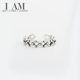 ブバリア フラワー リング 花 指輪 シルバー925 フリーサイズ レディース 女性 おしゃれ かわいい ファッション デザイン ジュエリー アクセサリー