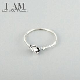 ロータス フラワー リング 蓮 花 指輪 シルバー925 フリーサイズ レディース 女性 おしゃれ かわいい ファッション デザイン ジュエリー アクセサリー