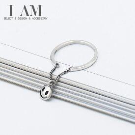 スマイル リング 指輪 シルバー925 フリーサイズ レディース 女性 おしゃれ かわいい ファッション デザイン ジュエリー アクセサリー