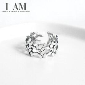 ローズ リーフ リング 指輪 シルバー925 レディース 女性 おしゃれ かわいい ファッション デザイン ジュエリー アクセサリー