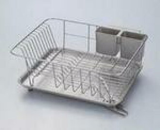 Flowing water tray with W Court draining silver Dish drainer rack 10P02jun13