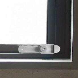 防犯グッズ 窓 鍵 カギ ロック 子供 転落防止 落下防止 侵入防止 外開き窓用補助錠