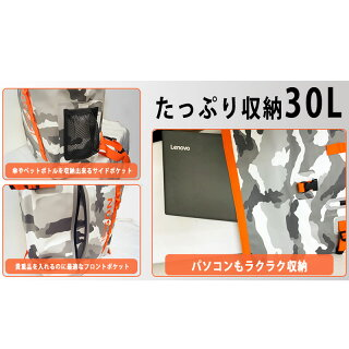 SAFALI防災セット 3人用リュック2個付 (ホワイト・ブラック)