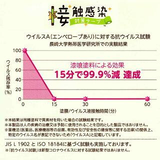 関西ペイント 接触感染対策テープ 幅10cm×長さ5m コルクブラウン