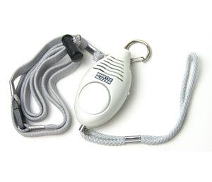 笛付き防犯ブザー ホイッスルブザー N-1174 かわいい笛付きの防犯ブザー!万が一の電池切れのときも使える笛付き! アラーム ライト付 防災 護身グッズ