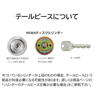 MIWA(美和ロック)交換用JNシリンダーLSP用 TE24 ST色