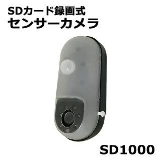 リーベックス SDカード録画式センサーカメラ SD1000