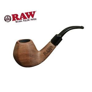 RAW NATURAL WOOD PIPE - ロウ ナチュラルウッドパイプ (140mm) [喫煙具・煙管・シャグ]