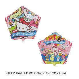 45cmスターサンリオキャラクターズ風船 カラーウエイト付10枚セット
