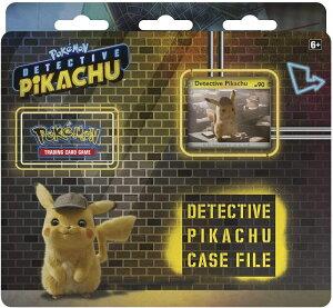 Pokemon TCG: Detective Pikachu Case File | 3 Booster Pack | A Promo Card | A Metallic ポケモン TCG 名探偵ピカチュウケースファイル + ブースターパック3枚 + プロモカード1枚 + メタリックコイン【並行輸入品】
