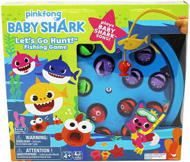 Cardinal Industries Baby Shark Fishing Game with Song, Multicolor ベイビーシャーク 釣り堀 おもちゃ 音楽【並行輸入品】【ラッピング不可】