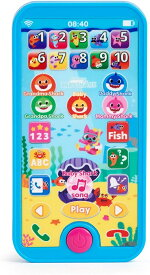ベイビーシャーク スマートフォン 英語教育 おもちゃ 【並行輸入品】WowWee Pinkfong Baby Shark Smartphone - Educational Preschool Toy【ラッピング不可】