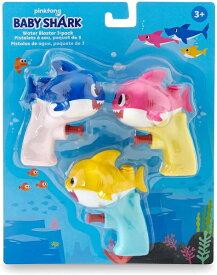 ベイビーシャーク 水鉄砲 家族3パック お風呂 プール遊び【並行輸入品】【ラッピング不可】WowWee Pinkfong Baby Shark Official Water Blaster - Baby Shark Family 3-Pack