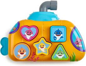 ベイビーシャーク メロディパズル 英語教育【並行輸入品】【ラッピング不可】WowWee Pinkfong Baby Shark Melody Shape Sorter - Preschool Toy