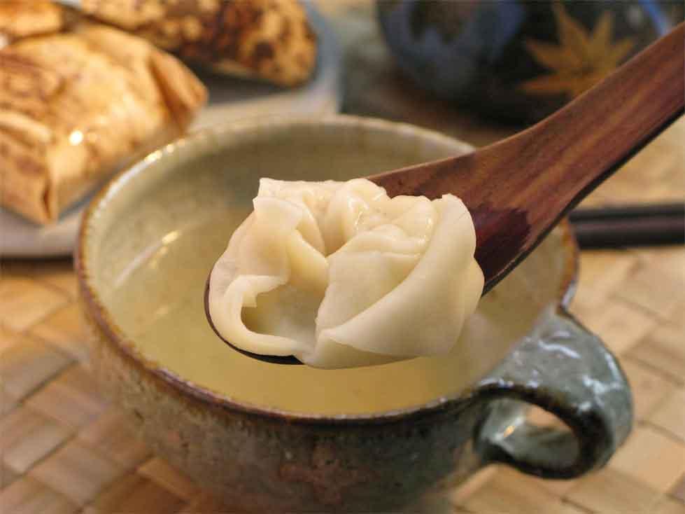 【黄金スープ】【鶏がら】●●大粒海老わんたんスープ●● [ちまきのお供][3食分]