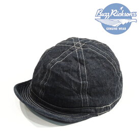 BuzzRickson's バズリクソンズ ARMY DENIM CAP Col.128)NAVY / Lot.BR02308 【Regular items】