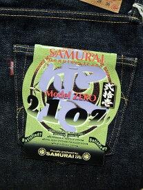 SAMURAI JEANS (サムライジーンズ) S5000VX−21oz 零21oz Mod.スペシャルセルビッチデニム JAPAN_MADE *送料無料
