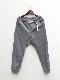 COOCHUCAMP(クーチューキャンプ) Happy Lib Pants SWET グレー /MADE.IN.JAPAN
