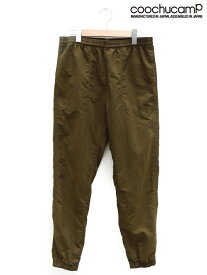 COOCHUCAMP(クーチューキャンプ)/HAPPY NYLON PANTS カーキ /MADE.IN.JAPAN SPECIAL PRICE/