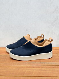 in complete control / ICC SLIP-ON SNEAKER Col.NAVY