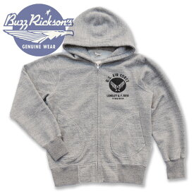 US AIR FORCE FULL ZIP PARKA スウェットパーカー BR65599 BUZZ RICKSON'S(バズリクソンズ) Made in JAPAN_fs04gm