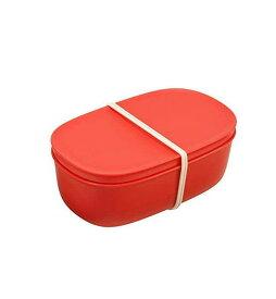 マーナ すのこランチボックス レッド K742R お弁当箱 すのこ付 抗菌 600ml【あす楽】【オススメ】【即納】