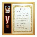 メダルと賞状と写真が入る額/賞状額/額縁/アートパネル/ポスターフレーム【OA-A3サイズ(420×297mm)・縦使い仕様】