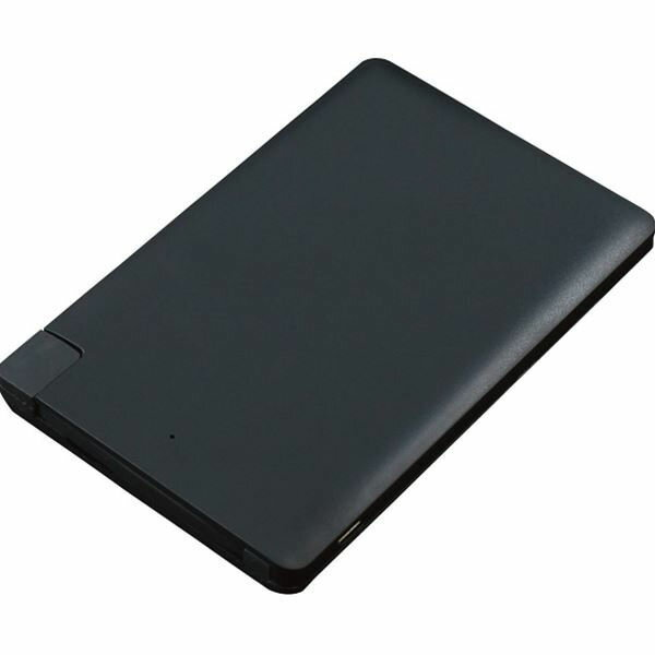 【内祝い お返し・11%OFF】ITPROTECH アイティプロテック カードサイズ2500mAモバイルバッテリー YT-PB25USL-BK<※【初節句/出産内祝い/出産/ギフト】>【ギフト・ラッピング無料】