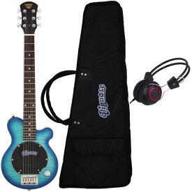 【送料込】【ヘッドホン付】Pignose ピグノーズ PGG-200/FM SBL アンプ内蔵ギター【smtb-TK】
