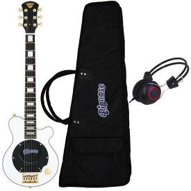 【送料込】【ヘッドホン付】Pignose ピグノーズ PGG-259 WH アンプ内蔵ギター【smtb-TK】