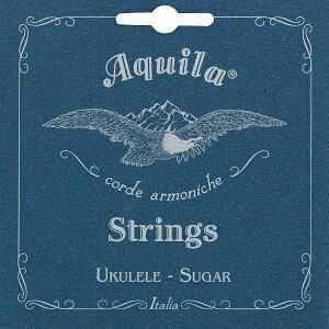 【メール便・送料無料・代引不可】【2セット】Aquila アクイーラ AQSU-CLW(153U) Sugar ウクレレ弦 コンサート用(LOW-G弦/巻弦)【smtb-TK】