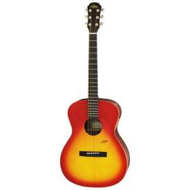 【送料込】【ソフトケース付】ARIA アリア MF-200/MTCS Cherry Sunburst, Matt 鳴りを追及した シンプルデザイン アコースティックギター 【smtb-TK】