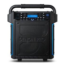 【送料込】DENON Professional Commander Sport Bluetooth対応 オールインワン・ポータブル PAシステム 【smtb-TK】