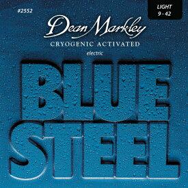 【メール便・送料無料・代引不可】【12セット】Dean Markley/ディーンマークレー 2552 [09-42] Blue Steel エレキギター弦【smtb-TK】