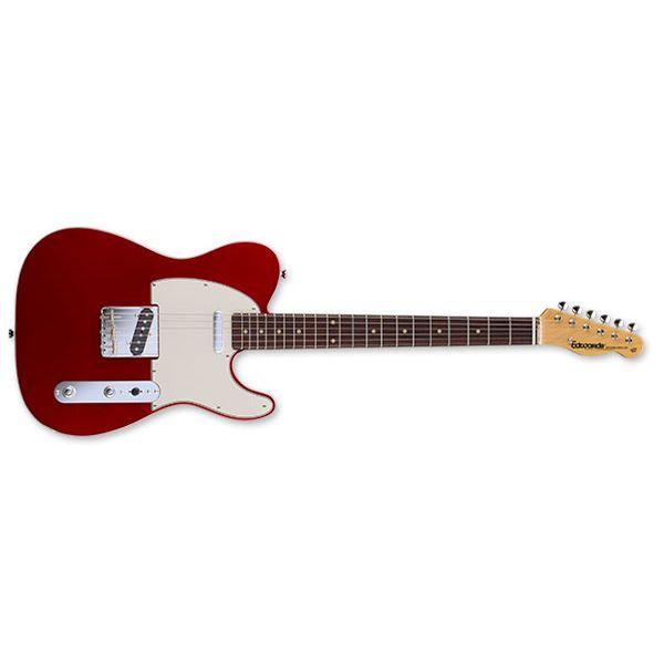 【ポイント5倍】【送料込】edwards エドワーズ E-TE-98CTM Candy Apple Red テレキャス タイプ エレキギター 【smtb-TK】
