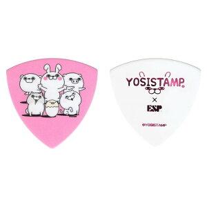 【メール便・送料無料・代引不可】【10枚セット】ESP YSP-YS YOSISTAMP ヨッシースタンプ ギター ピック 【smtb-TK】