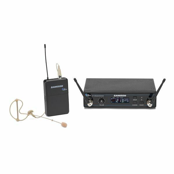 【送料込】SAMSON サムソン CONCERT 99 Earset ESWC99BSE10J-B 周波数可変式 ワイヤレスシステム w/ヘッドセットマイク 【smtb-TK】