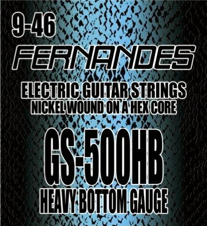 【メール便・送料無料・代引不可】【3セット】FERNANDES/フェルナンデス GS-500HB [09-46] エレキギター弦【smtb-TK】