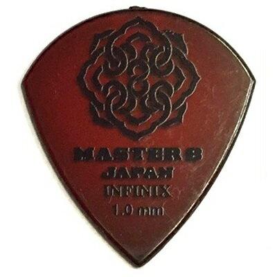 【ポイント5倍】【メール便・送料無料・代引不可】【10枚セット】MASTER8 JAPAN INFINIX JAZZ III XL 1.0mm ギター ピック [IF-JZ100]【smtb-TK】