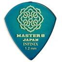 【ポイント5倍】【メール便・送料無料・代引不可】【10枚セット】MASTER8 JAPAN INFINIX JAZZ III XL 1.2mm ギター ピ…