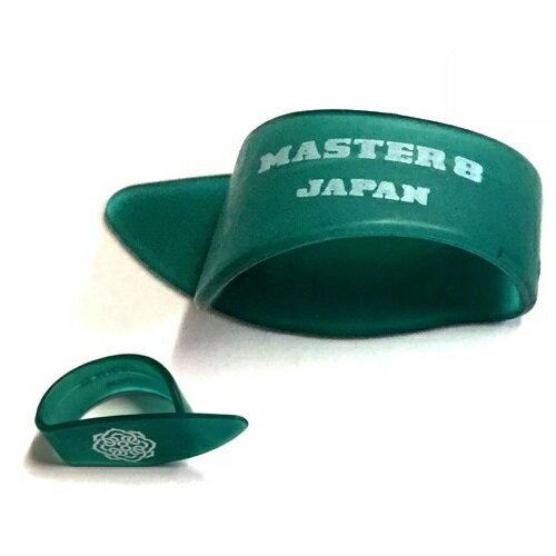 【ポイント5倍】【メール便・送料無料・代引不可】【5枚セット】MASTER8 JAPAN INFINIX HARD POLISH サムピック Medium/Emerald [IF-TP-M-EMD]【smtb-TK】