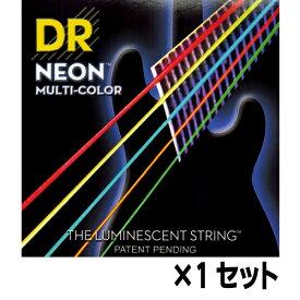 【メール便・送料無料・代引不可】【1セット】DR NMCB5-45 [45-125] NEON マルチカラー 5弦ベース弦【smtb-TK】