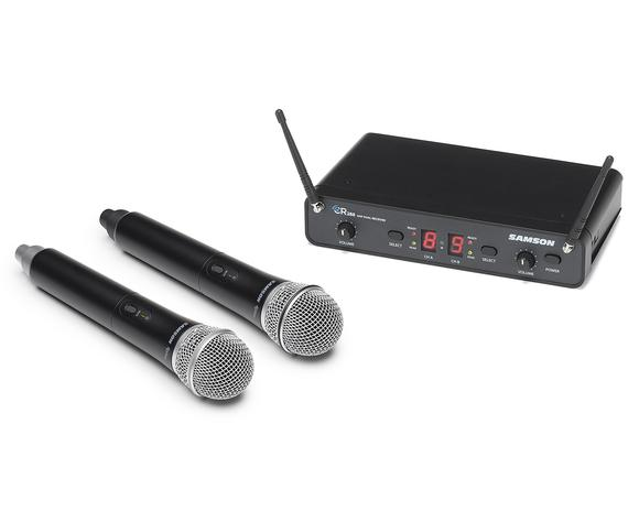 【送料込】SAMSON サムソン Concert 288 Handheld ESWC288HQ6J-B デュアルチャンネルワイヤレスシステム w/ハンドマイク×2【smtb-TK】