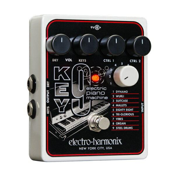 【送料込】【箱傷みアウトレット】【国内正規品】electro-harmonix/エレクトロハーモニックス KEY9 Electric Piano Machine エレピ シミュレーション ペダル【smtb-TK】
