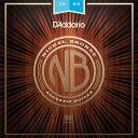 【メール便・送料無料・代引不可】【1セット】D'Addario ダダリオ NB1253 ニッケルブロンズ Light アコースティックギ…