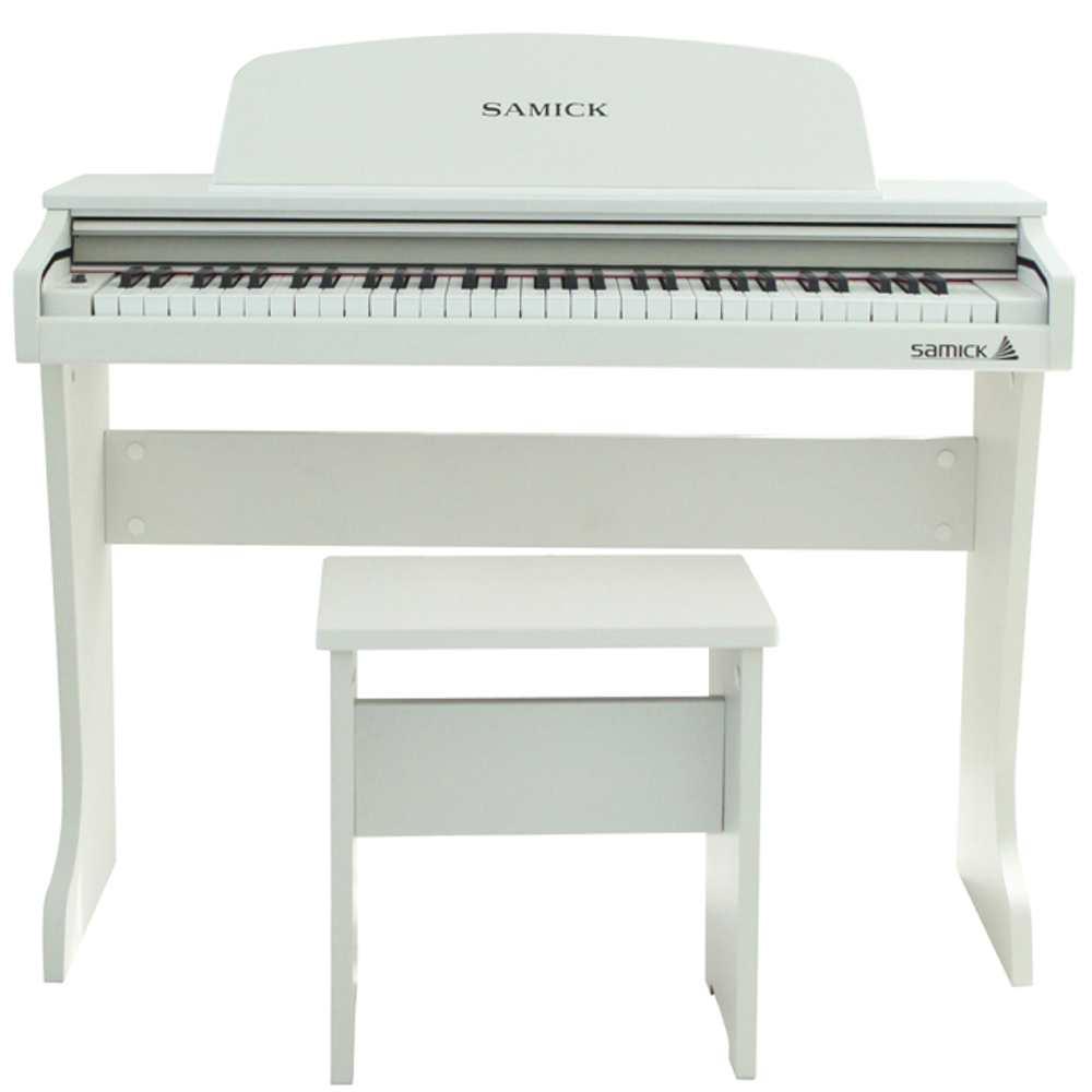 【送料込】SAMICK サミック 61KID-O2 ホワイト 白 ミニ デジタルピアノ 61鍵盤 子供用 電子ピアノ 【smtb-TK】
