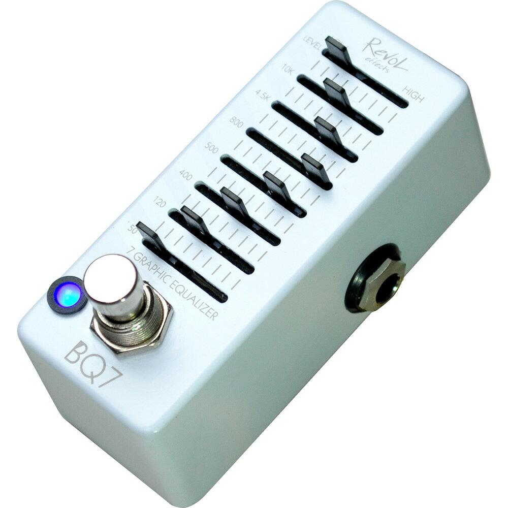 【送料込】REVOL EBEQ-01 BQ7ベース用 7バンド・グラフィック・イコライザー 【smtb-TK】