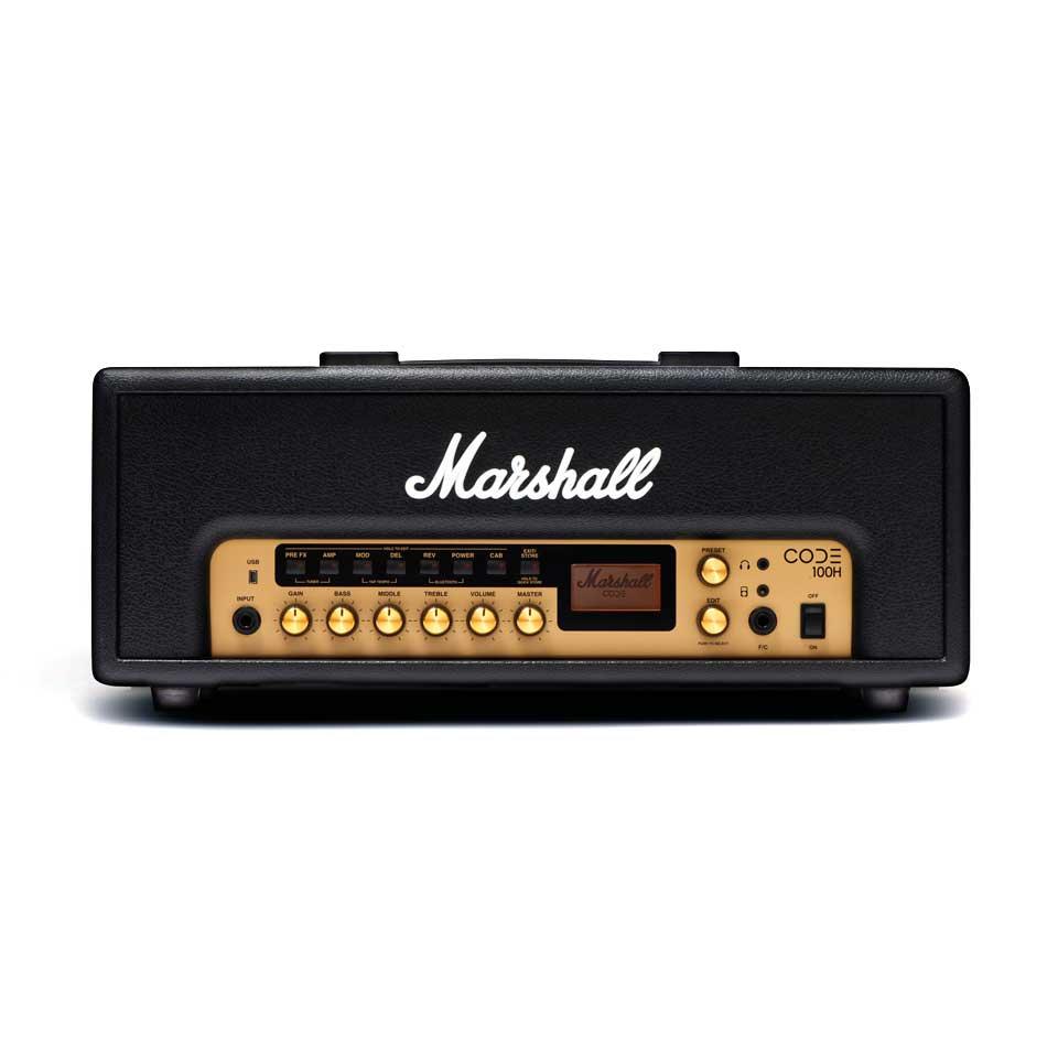 【ポイント6倍】【限定Marshallピック2枚付】【送料込】Marshall マーシャル CODE100H アンプヘッド 正規輸入品【smtb-TK】